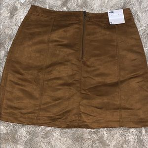 Old navy sueded mini skirt